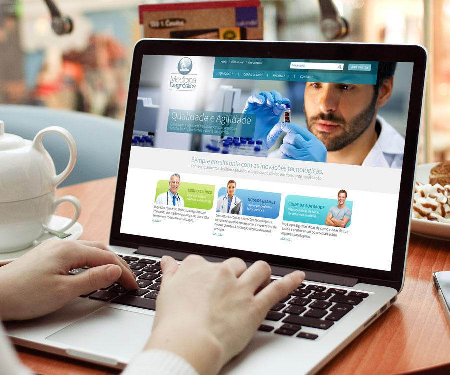 Site Medicina Diagnóstica